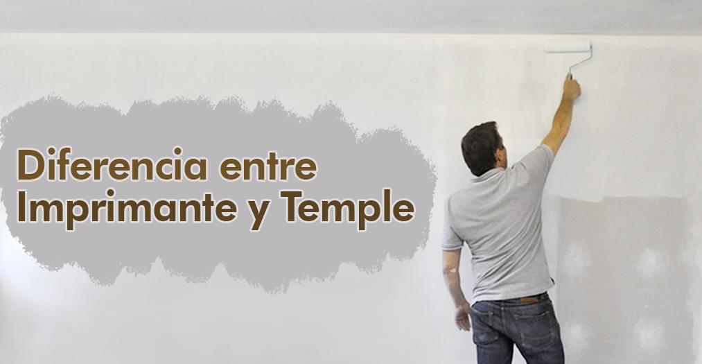 Diferencia Entre Imprimante Y Temple Pinturas Anypsa